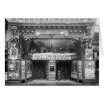 El líder Theater, 1921 Tarjetón