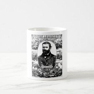 El líder y sus batallas -- Ulises S. Grant Tazas