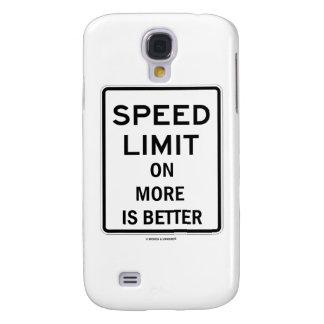 El límite de velocidad en más es mejor (el humor funda para samsung galaxy s4