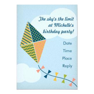 ¡El límite del cielo! Invitación del fiesta