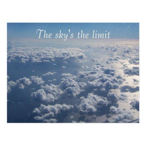 El límite del cielo postal