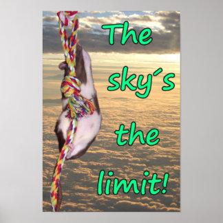 ¡El límite del cielo! (Poster inspirado de la