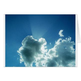 ¡El límite del cielo! Tarjeta De Felicitación