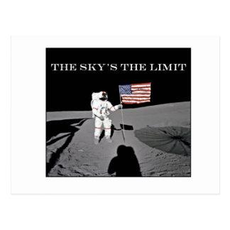 El límite del cielo tarjeta postal
