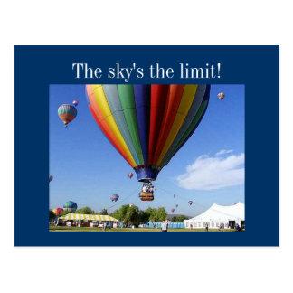 ¡El límite del cielo! Tarjetas Postales