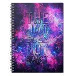 El límite no existe libro de apuntes con espiral