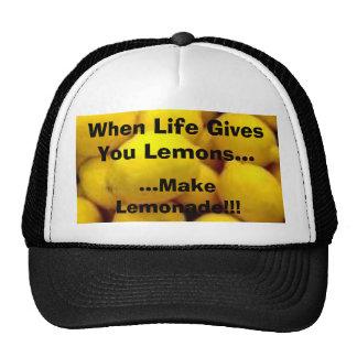 el limón, cuando la vida le da los limones…,… hace gorro