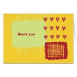 El limón del chile le agradece tarjeta de nota