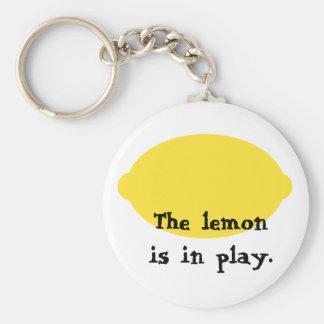 El limón está en llavero del juego