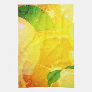 El limón fresco corta la toalla de MoJo del