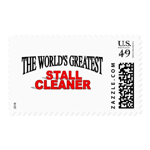 El limpiador más grande de la parada del mundo sello