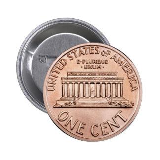 El Lincoln memorial 2005 1 dinero de la moneda de Pin