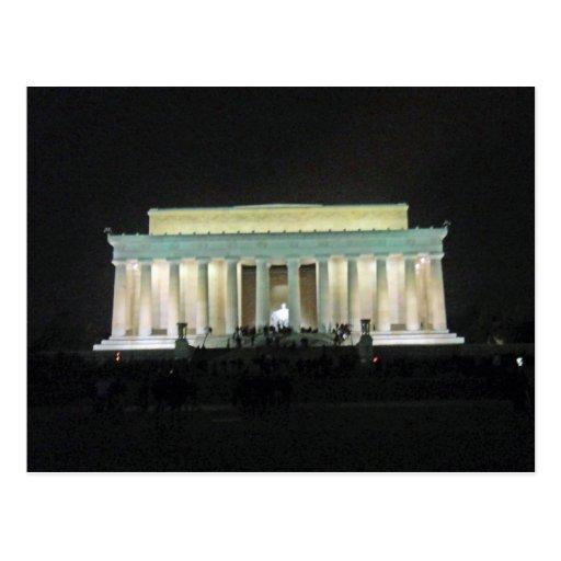 El Lincoln memorial en el Washington DC 002 de la  Postal