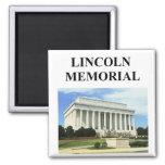 el Lincoln memorial Imanes