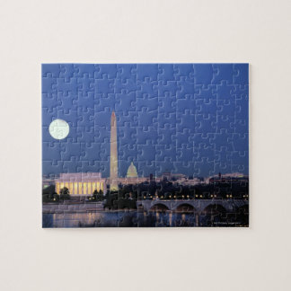 El Lincoln memorial, monumento de Washington, los  Puzzles