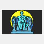 El Lincoln memorial Rectangular Altavoces