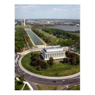 El Lincoln memorial Tarjetas Postales