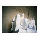El Lincoln memorial Tarjeta Postal