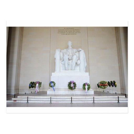 El Lincoln memorial. Tarjetas Postales