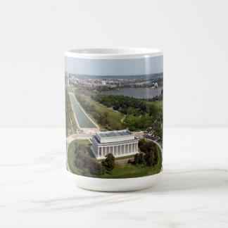 El Lincoln memorial Taza De Café