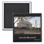El Lincoln memorial, Washington DC Imán De Frigorífico