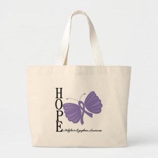 El linfoma de Hodgkin de la mariposa de la esperan Bolsas