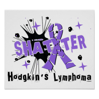 El linfoma de Hodgkin del fragmento Posters