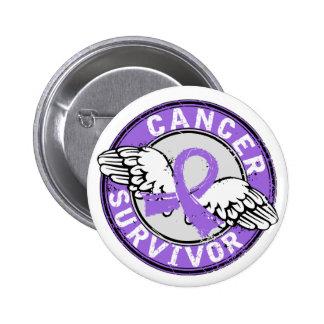 El linfoma de Hodgkin del superviviente 14 Pins