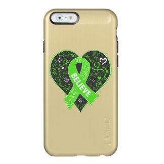 El linfoma de Non-Hodgkins cree el corazón de la Funda Para iPhone 6 Plus Incipio Feather Shine