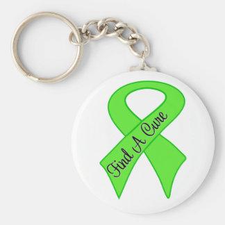 El linfoma de Non-Hodgkins encuentra una curación Llavero Redondo Tipo Pin