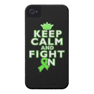 El linfoma de Non-Hodgkins guarda lucha tranquila iPhone 4 Case-Mate Coberturas