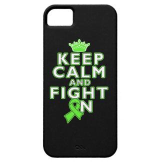 El linfoma de Non-Hodgkins guarda lucha tranquila iPhone 5 Case-Mate Carcasas