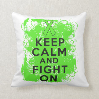 El linfoma guarda calma y sigue luchando cojines