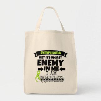 El linfoma hizo frente a su enemigo peor de mí