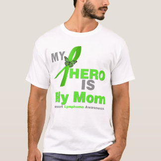 El linfoma mi héroe es mi mamá playera