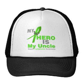 El linfoma mi héroe es mi tío gorras