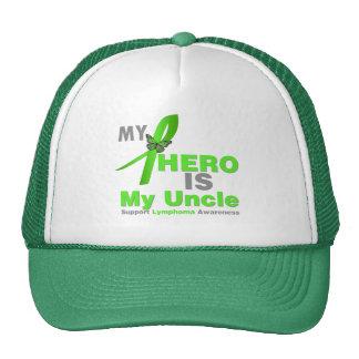 El linfoma mi héroe es mi tío gorros bordados