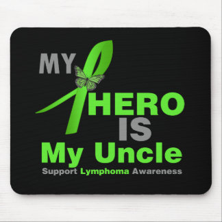 El linfoma mi héroe es mi tío tapete de ratón