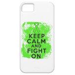 El linfoma Non-Hodgkin guarda calma y sigue luchan iPhone 5 Case-Mate Cárcasa