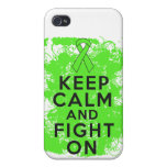 El linfoma Non-Hodgkin guarda calma y sigue luchan iPhone 4 Carcasa