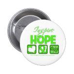 El linfoma Non-Hodgkin inspira esperanza Pins