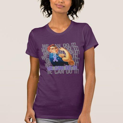 El linfoma Rosie de Hodgkin PODEMOS HACERLO Camiseta