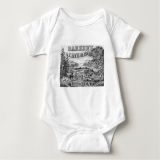 El linimento 1883 de Barker Body Para Bebé