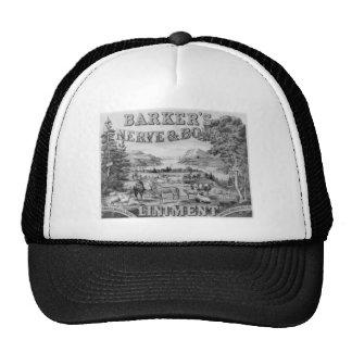 El linimento 1883 de Barker Gorras