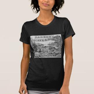 El linimento 1883 de Barker Camisetas