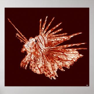 El Lionfish Posters
