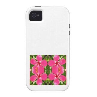El lirio rosado de Lilly florece a revendedores de Vibe iPhone 4 Carcasa