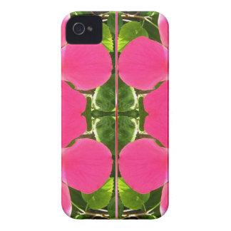El lirio rosado de Lilly florece a revendedores de iPhone 4 Case-Mate Cobertura