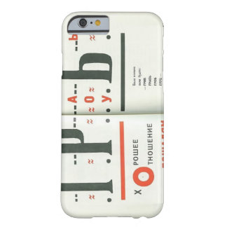 El Lissitzky- Illustration to For the voice iPhone 6 Case