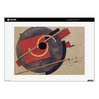 El Lissitzky- Preliminary sketch for a poster Decal For Laptop